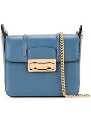 Lanvin Mini 'Jiji' Shoulder Bag Blue