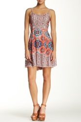 Angie Printed Woven Dress Juniors Multi