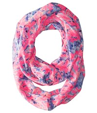Lilly Pulitzer Resort Infinty Multi Coco Coral Crab Scarves Pink