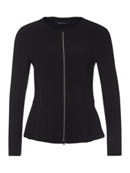 Marc Cain Zip Up Jacket Black