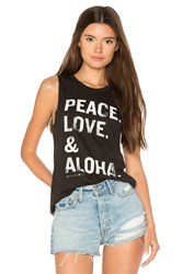 Spiritual Gangster Pla Stacked Muscle Tank Black