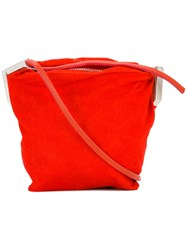Rick Owens Adri Crossbody Bag Red