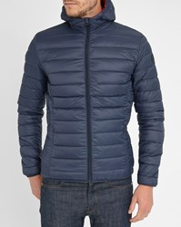 Schott Nyc Navy Light Feather Down Jacket