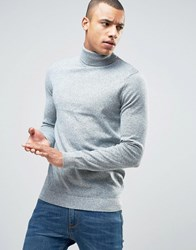 New Look Jumper With Roll Neck In Light Green Light Green