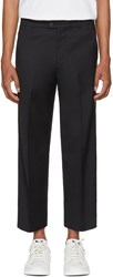 Adaptation Black Tailored Side Stripe Trousers