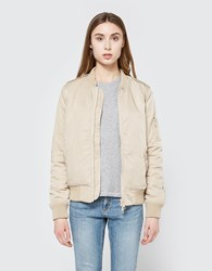 Just Female Oak Bomber Jacket Light Sand
