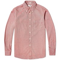 Individualized Shirts Reverse Beaded Oxford Shirt Red