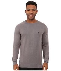 Volcom Understated Sweater Dark Grey Men's Sweater Gray