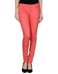 Patrizia Pepe Denim Pants Coral
