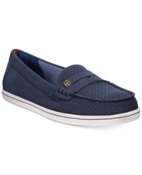 Tommy Hilfiger Women's Butter Penny Loafers Women's Shoes Navy