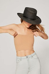 Urban Outfitters Uo Hallie Ribbed Knit Tube Top Neutral