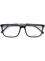 Carrera Rectangle Frame Glasses Black