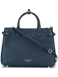 Burberry 'Banner' Tote Blue