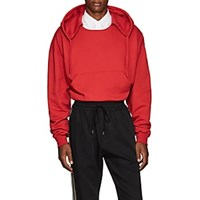 Cmmn Swdn Tyrone Crop Hoodie Red