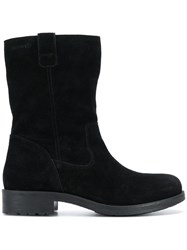 Geox Smooth Ankle Boots Black