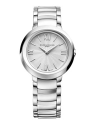 Baume And Mercier Promesse Stainless Steel Bracelet Watch Silver