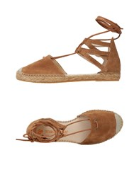 Macarena Footwear Espadrilles Brown