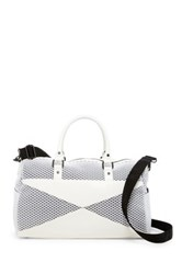 Poverty Flats Sport Duffle Bag White