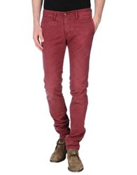 Fifty Four Casual Pants Maroon