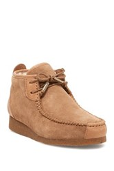 Australia Luxe Collective Lucan Genuine Shearling Lined Chukka Moc Boot Brown