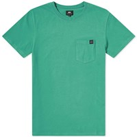 Edwin Pocket Tee Green