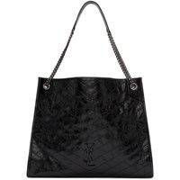 Saint Laurent Black Large Niki Shopping Tote