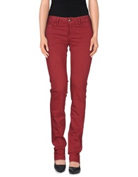 Just Cavalli Denim Pants Maroon