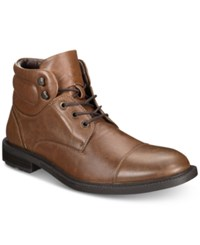 Unlisted By Kenneth Cole Men's Roll With It Boots Men's Shoes Cognac