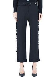 Preen Deaton Frilled Pants Black