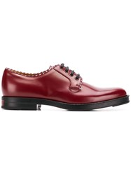 Gucci Derby Shoes Red
