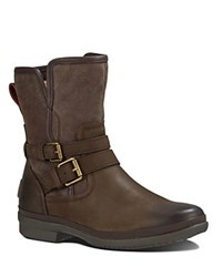 Ugg Simmens Waterproof Booties Stout