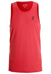 Your Turn Active Sports Shirt Scarlet Red