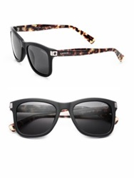 Lanvin 53Mm Wayfarer Acetate Sunglasses Black Tortoise