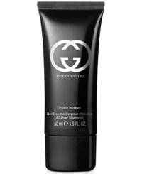 Free Shower Gel With Any 84 Purchase From The Gucci Guilty Pour Homme Fragrance Collection