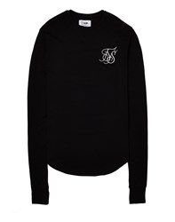 Sik Silk Siksilk Base Layer Long Sleeve T Shirt Black