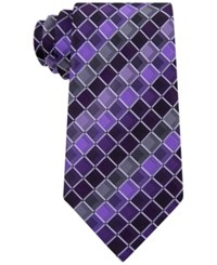 Geoffrey Beene Men's Ageless Box Tie Eggplant