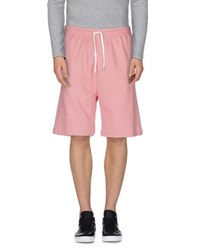 Mauro Grifoni Trousers Bermuda Shorts Men Red