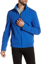Hugo Boss Carlten Front Zip Long Sleeve Jacket Blue
