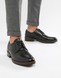 Red Tape Elcot Lace Up Brogue Shoes In Black