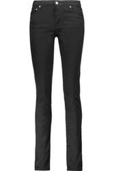 Mcq By Alexander Mcqueen Mid Rise Skinny Jeans Black