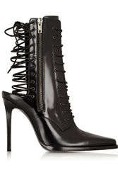 Haider Ackermann Lace Up Leather Boots Black