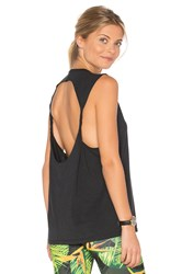 Onzie Twist Back Tank Black