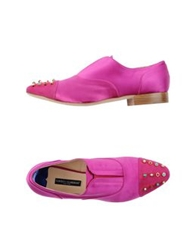 Alberto Guardiani Moccasins Purple