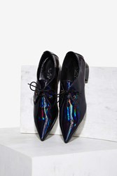 Sixtyseven Maddy Patent Loafer Blue
