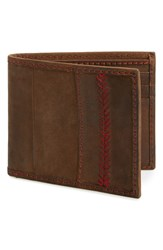 Rawlings Sports Accessories 'The Arch' Leather Wallet Brown