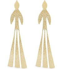 J.W.Anderson Hammered Bird Earrings Gold