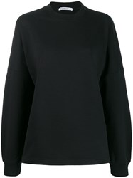 Alexander Wang T By Logo Print Sweatshirt Black