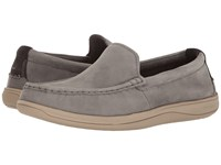 Cole Haan Boothbay Slip On Loafer Ironstone Nubuck Men's Slip On Shoes Pewter