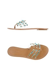 Ioannis Thong Sandals Camel