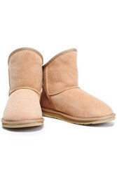 Australia Luxe Collective Shearling Ankle Boots Cream
